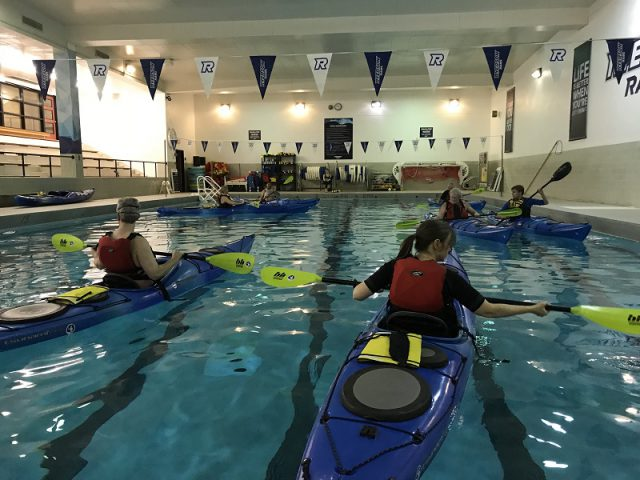 Pool course at Ryerson